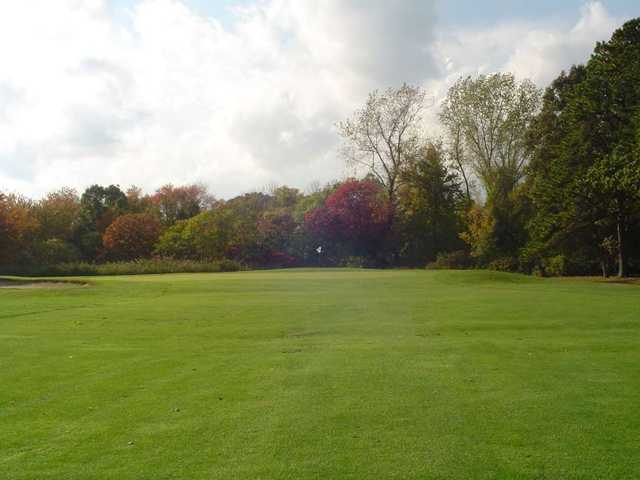 View of a green at North Kingstown Municipal Golf Club