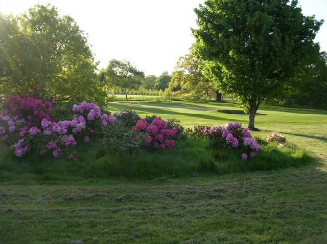 A view from fairway #1 at Serlby Park Golf Club