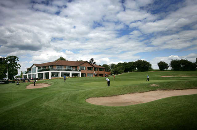 A view of the clubhouse at The Nottinghamshire Golf & Country Club