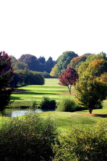 An autumn view from Bicester Golf & Country Club