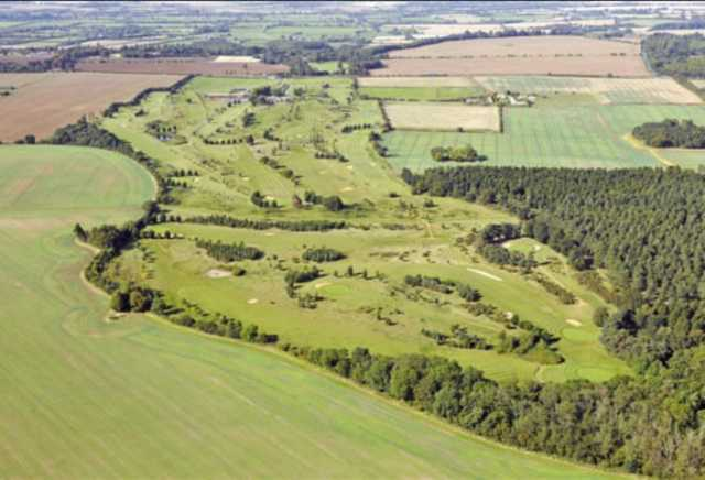 Aerial view: Carswell Golf Course at Carswell Golf & Country Club
