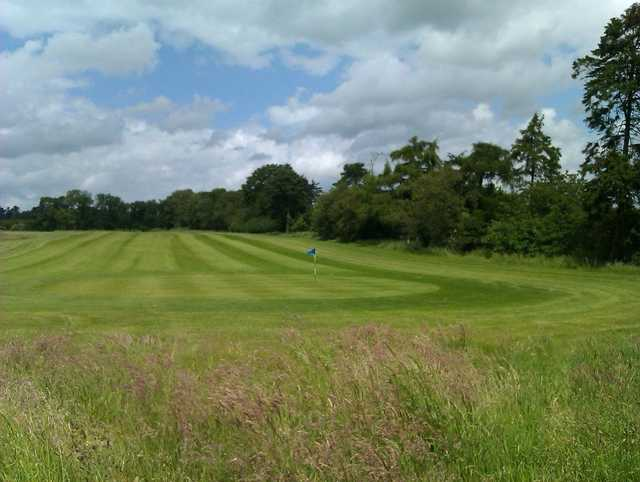 A view of a hole at Greys Green Golf Course