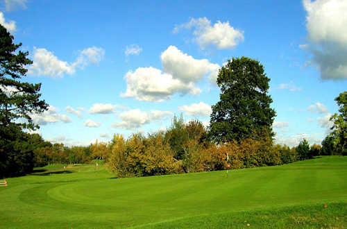 A view of the 4th green at Championship Course from Hadden Hill Golf Club