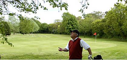 A view from Shrivenham Park Golf Club