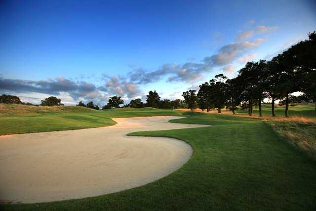 A view from fairway #2 at Oxfordshire Golf Club