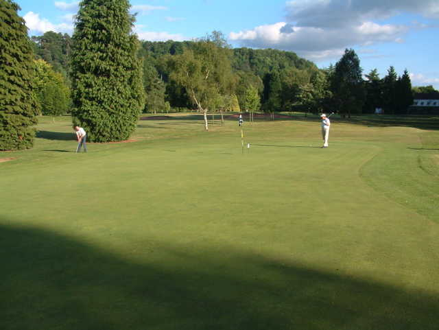 A view of hole #16 at Bridgnorth Golf Club