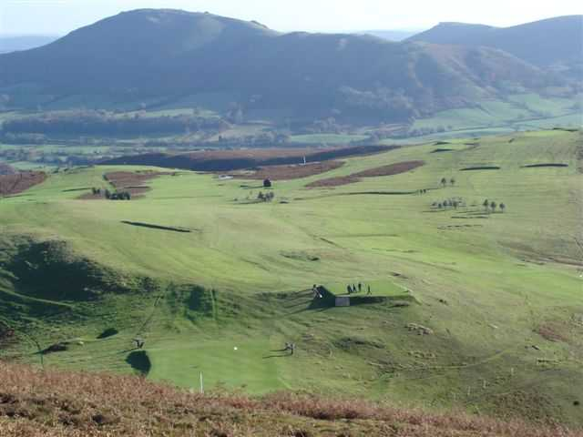 A view from Church Stretton Golf Club