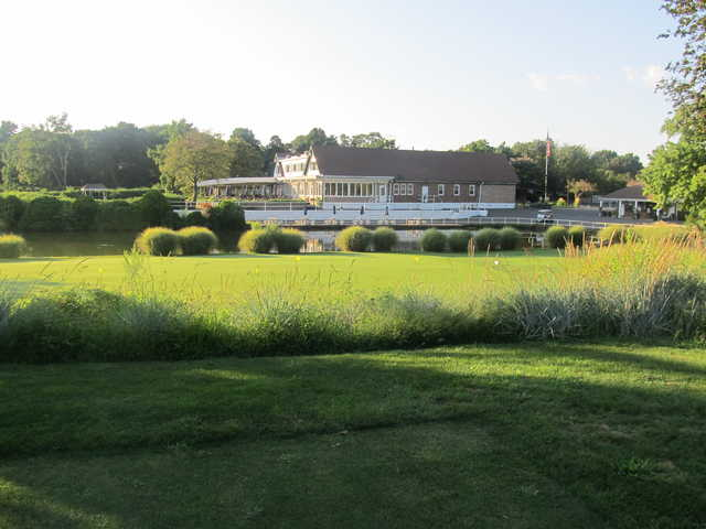 View of the clubhouse at Old Orchard Country Club