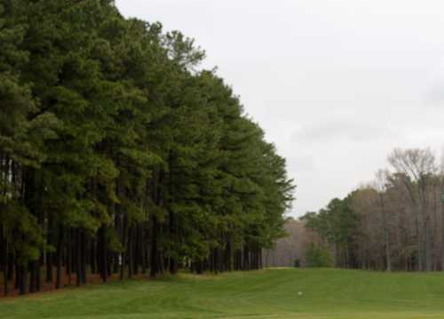 A view of a tee at Hog Neck Golf Course