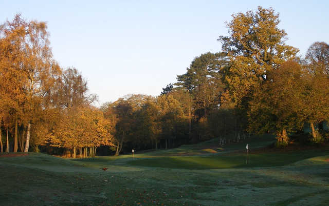 An autumn view from Hawkstone Park Golf Club