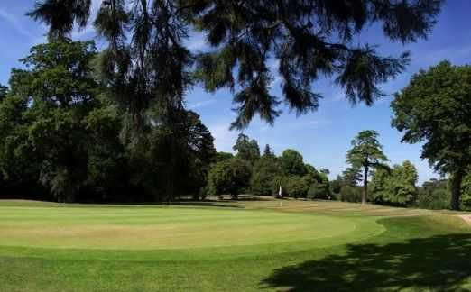 A wide green at Patshull Park to fully test your short game