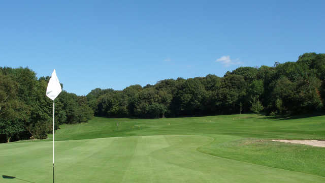 A view from a green at Wrekin Golf Club