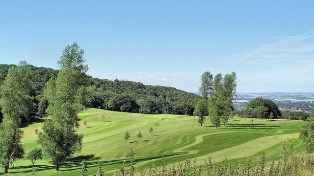 A view of a fairway at Wrekin Golf Club