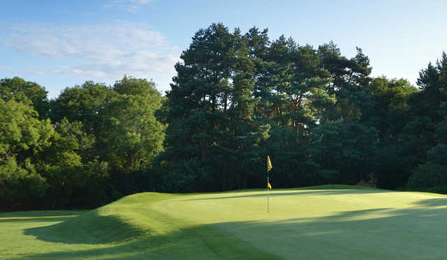 A view of green #11 at Bristol & Clifton Golf Club