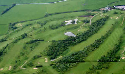 Aerial view from Long Sutton Golf Club