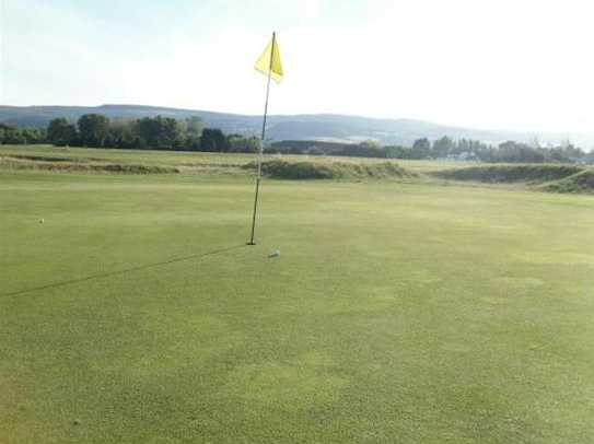 A view of the 16th hole at Minehead & West Somerset Golf Club