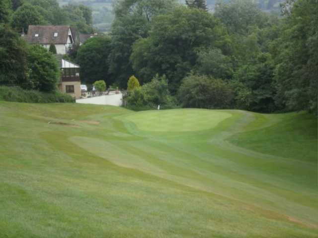 A view from the left side of a fairway at Saltford Golf Club