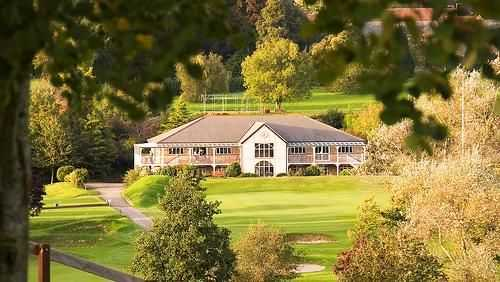 A view of the clubhouse at Wells Golf Club