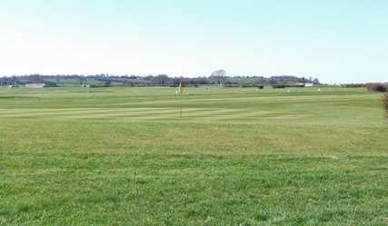 A view of a green at Wincanton Golf Club