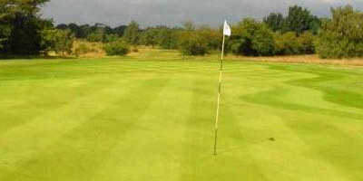 A view of the 14th green at Bawtry Golf & Country Club