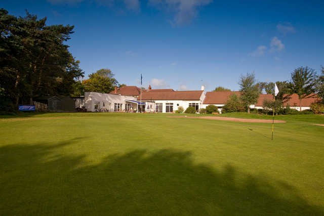A view of the clubhouse at Dore & Totley Golf Club