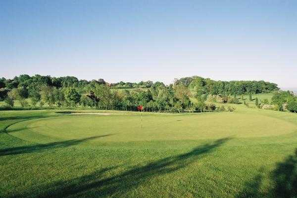 A view of the 15th hole at Hickleton Golf Club