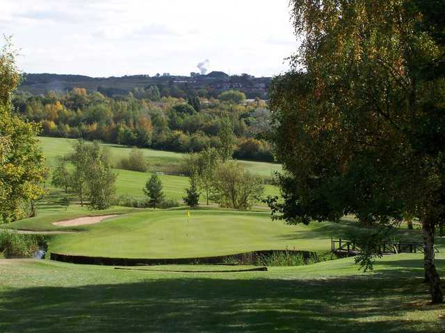View from Rother Valley Golf Centre
