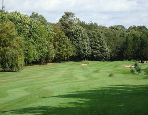 A view from fairway #1 at Rotherham Golf Club