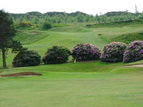A view of hole #1 at Stocksbridge & District Golf Club