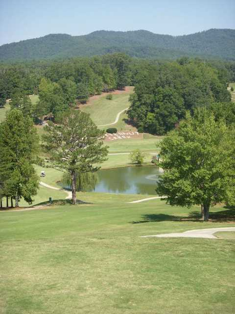 A view from Butternut Creek Golf Course