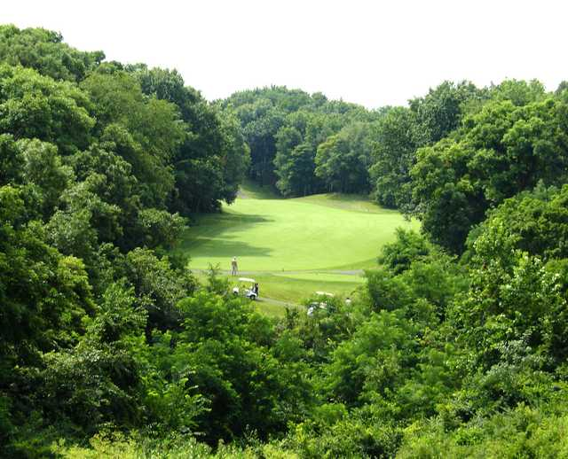 A view from Lick Creek Golf Course.