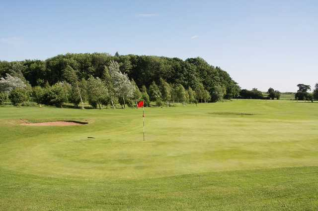 A view of the 10th hole at Styrrup Hall Golf & Country Club