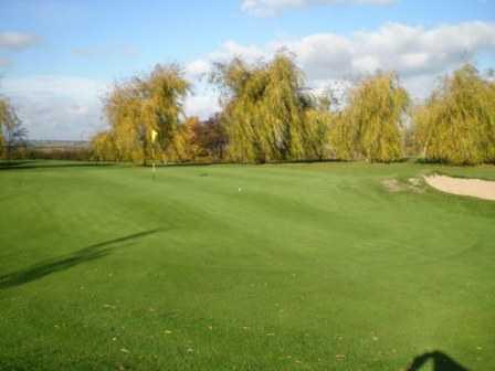 A view of green #1 at Wath Golf Club