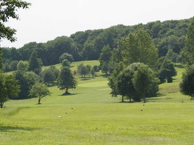 A view from a tee at Cannock Park Golf Club
