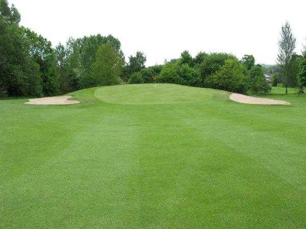 A view from fairway #11 at Ingestre Park Golf Club