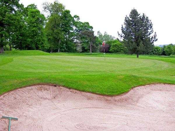 A view of hole #16 at Ingestre Park Golf Club