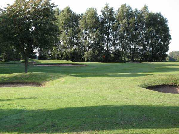 A view from the 2nd fairway at Leek Golf Club