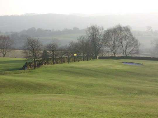 A view from a fairway at Whiston Hall Hotel & Golf Club