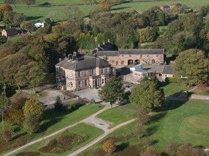 Aerial view from Whiston Hall Hotel & Golf Club