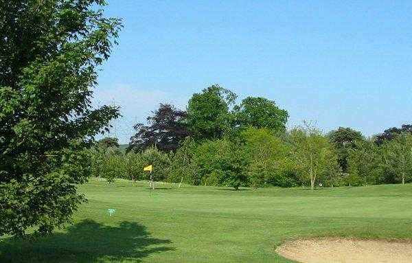 A view of the 16th hole at Main Course from Fynn Valley Golf Club
