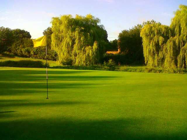 A view of the 10th green at Seckford Golf Club