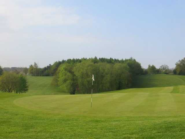 A view of green #10 at Constable Course from Stoke by Nayland Golf Club