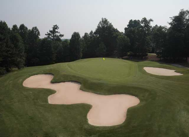 View of a green at Olde Atlanta Golf Club