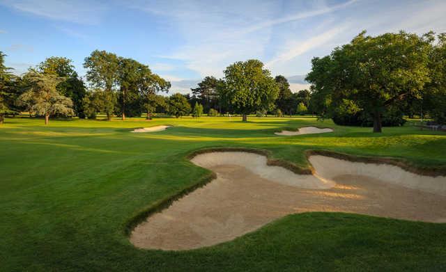 A view of hole #8 at Ashford Manor Golf Club