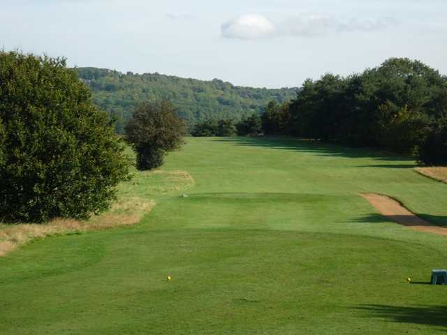 A view from the 10th tee at Bletchingley Golf Club