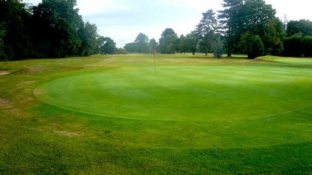 A view of the 11th hole at Chipstead Golf Club