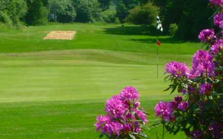 A view of the 4th hole at Dorking Golf Club