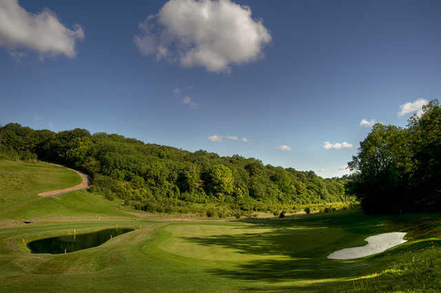 A view of hole #3 at Blue Course from Farleigh Golf Club