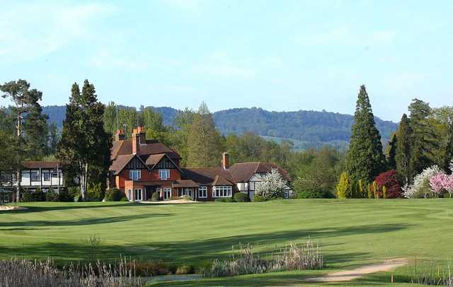 A view of the clubhouse at Gatton Manor Hotel Golf & Country Club