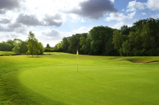 A view of the 3rd hole at Sutton Green Golf Club